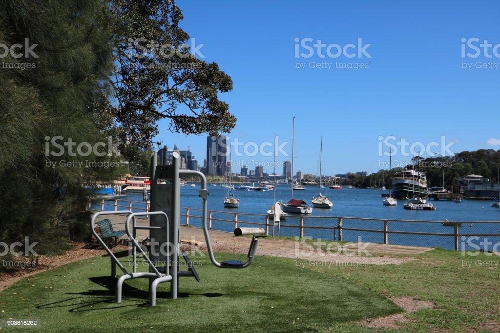 Berrys Bay in Sydney, New South Wales Australia stock photo