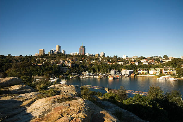 Berrys Bay, Sydney Harbour, Australia stock photo