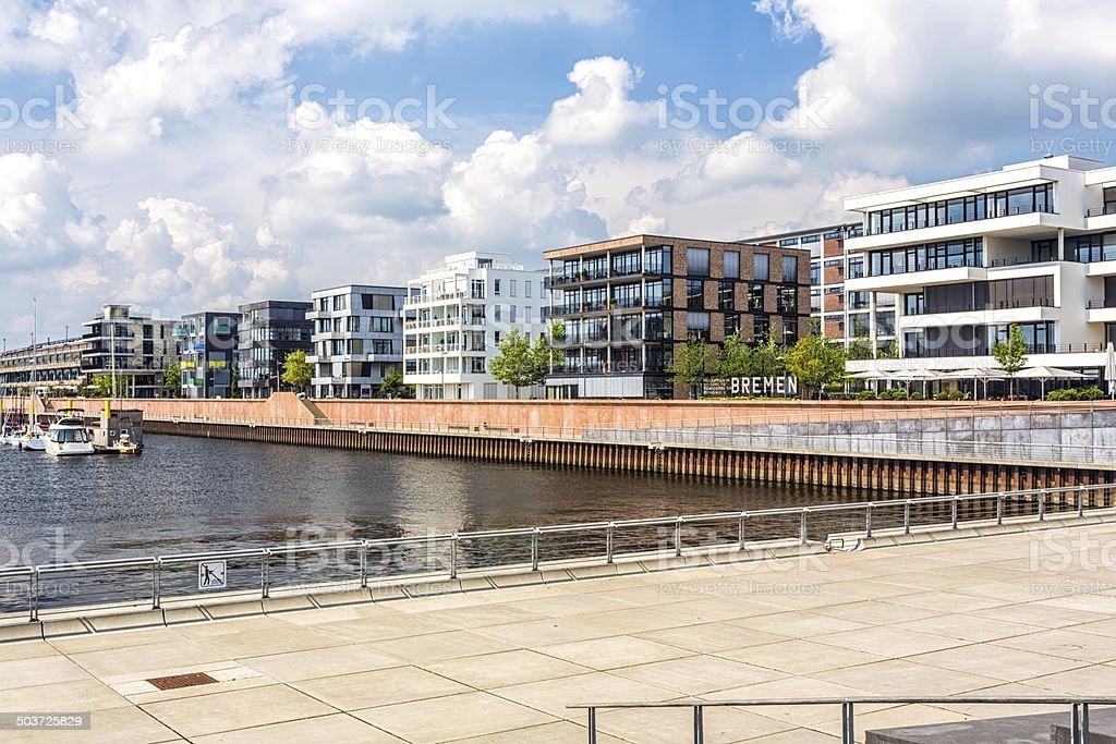 Überseestadt Bremen (Eurohafen) - foto de stock