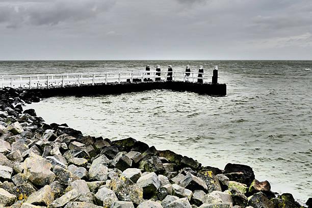 Berth on the Afsluitdijk. foto
