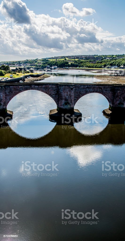 Berwick Bridge stock photo