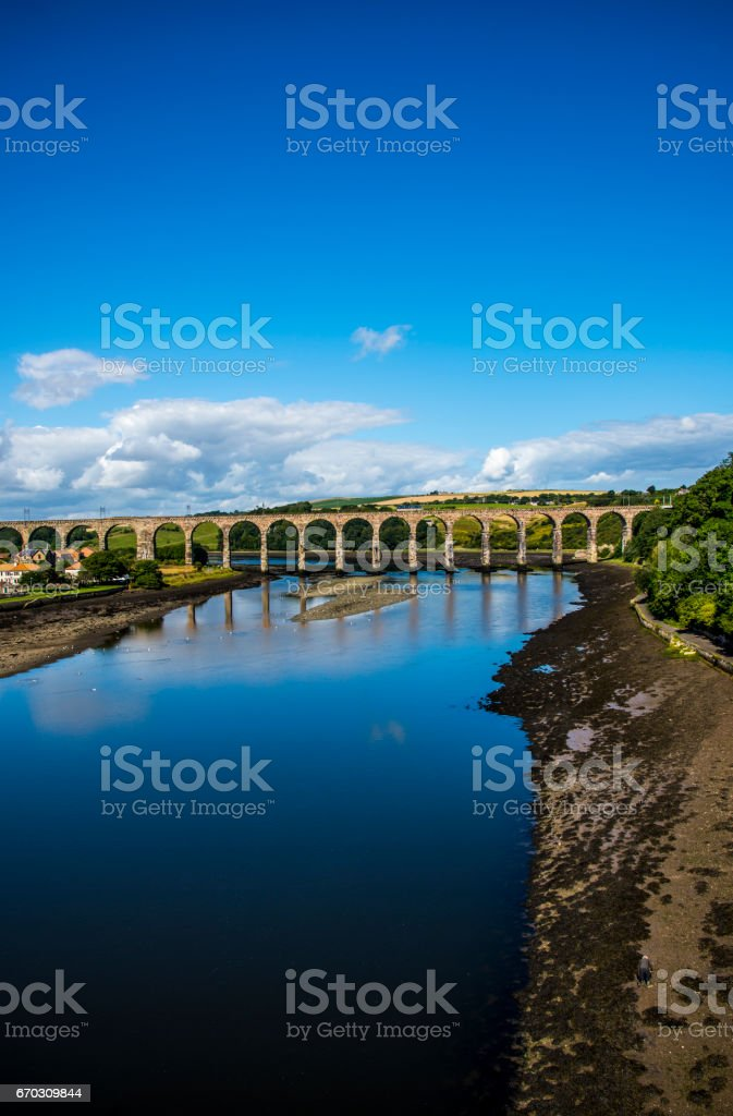 Berwick-Upon -Tweed stock photo
