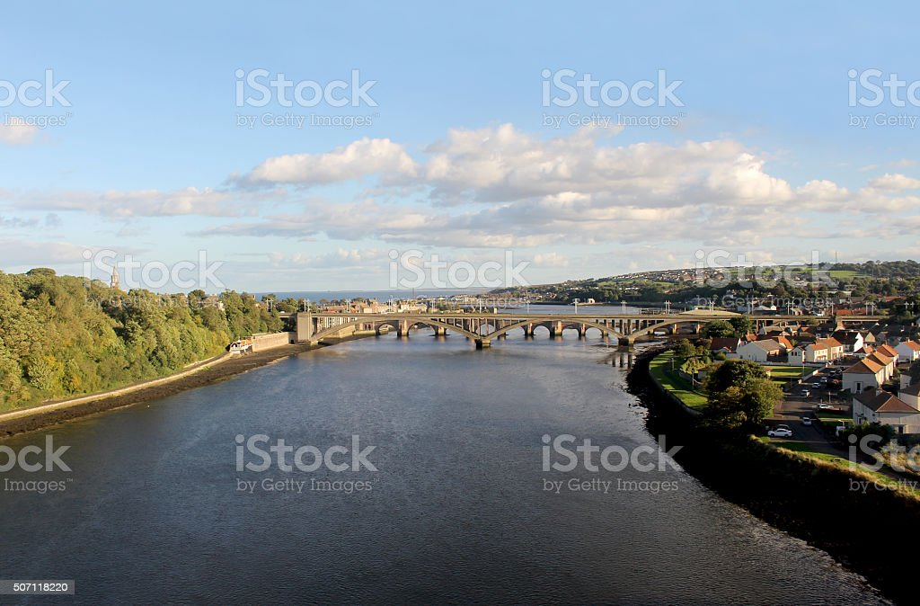 Berwick-upon-Tweed stock photo
