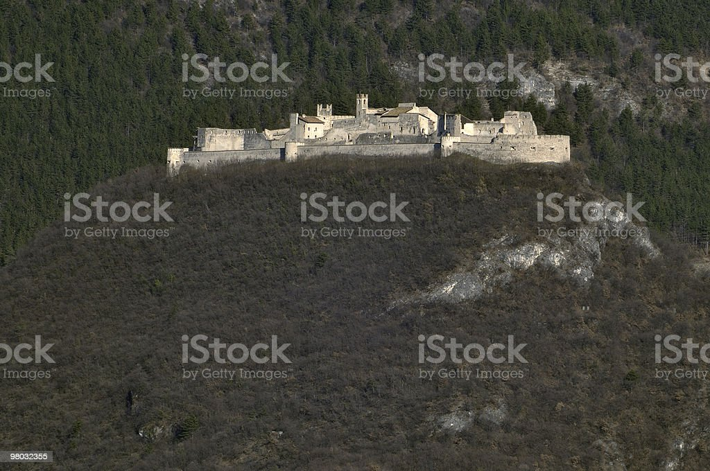 Castel Beseno royalty-free stock photo