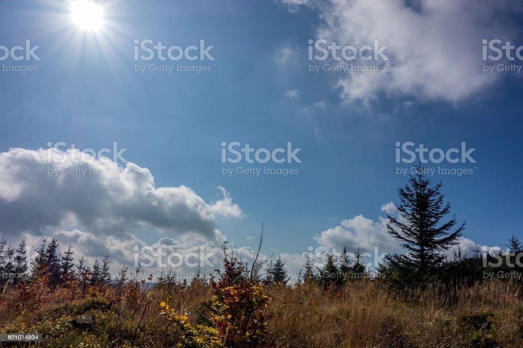 Beskids stock photo