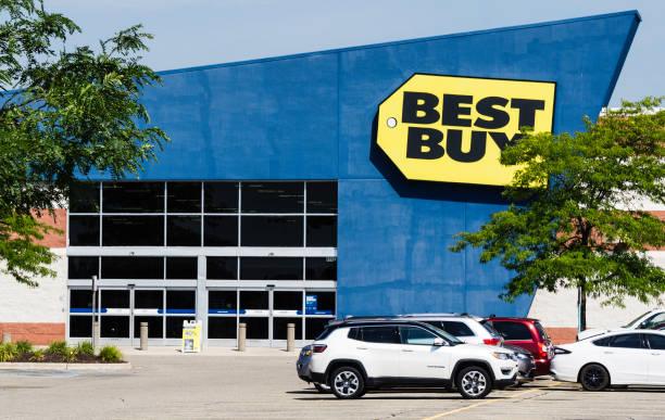 Best Buy Store, Shelby Twp, Michigan stock photo