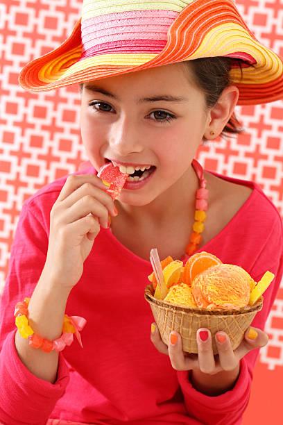 melhor doce - nails ice cream imagens e fotografias de stock