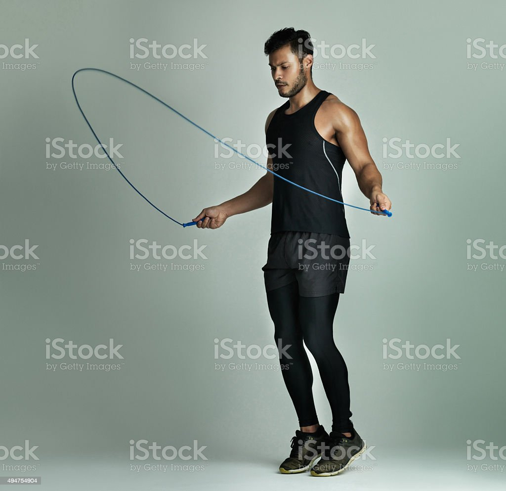 Best cardio workout ever! stock photo
