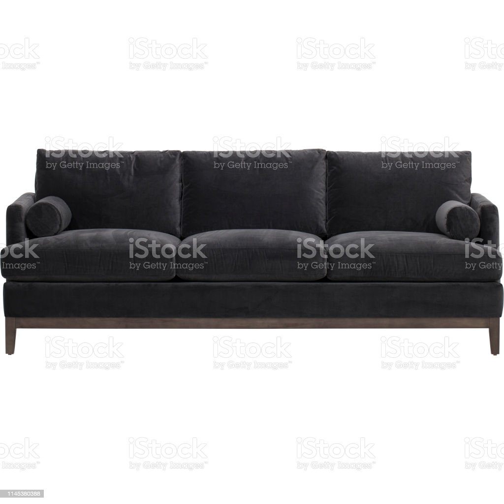Best Choice Products Modern Faux Leather 3seat Modular Sofa With Sofabed Andrea Sofa Bed Black With White Background Stock Photo Download Image Now Istock