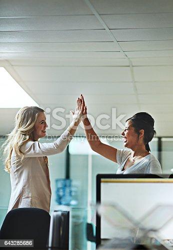 1031394114istockphoto Best coworker ever! 643285686