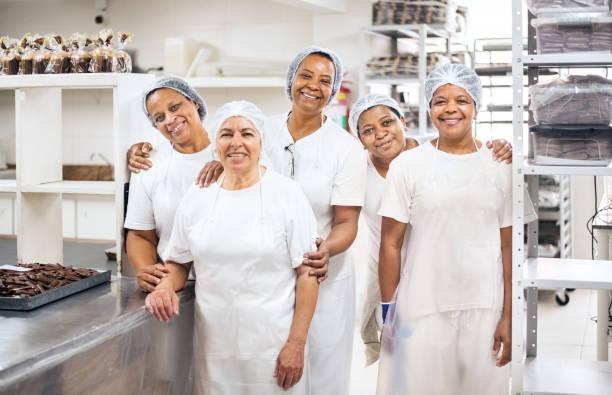 Beste Mitarbeiter der Schokoladenfabrik – Foto
