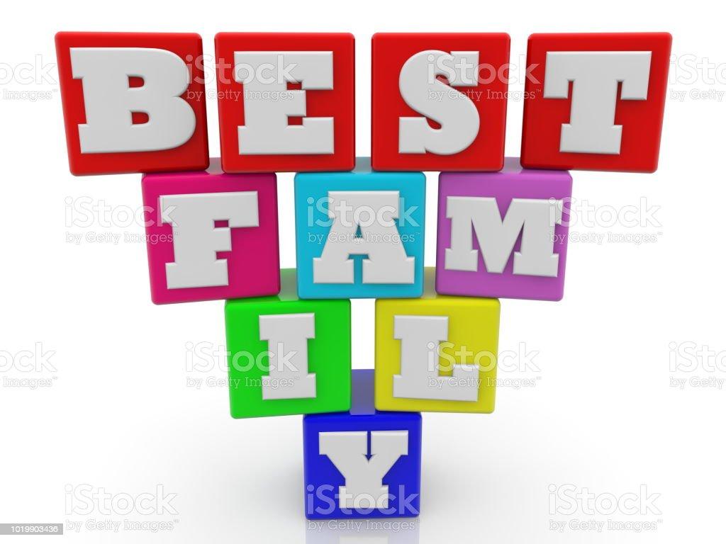 mejor concepto de familia