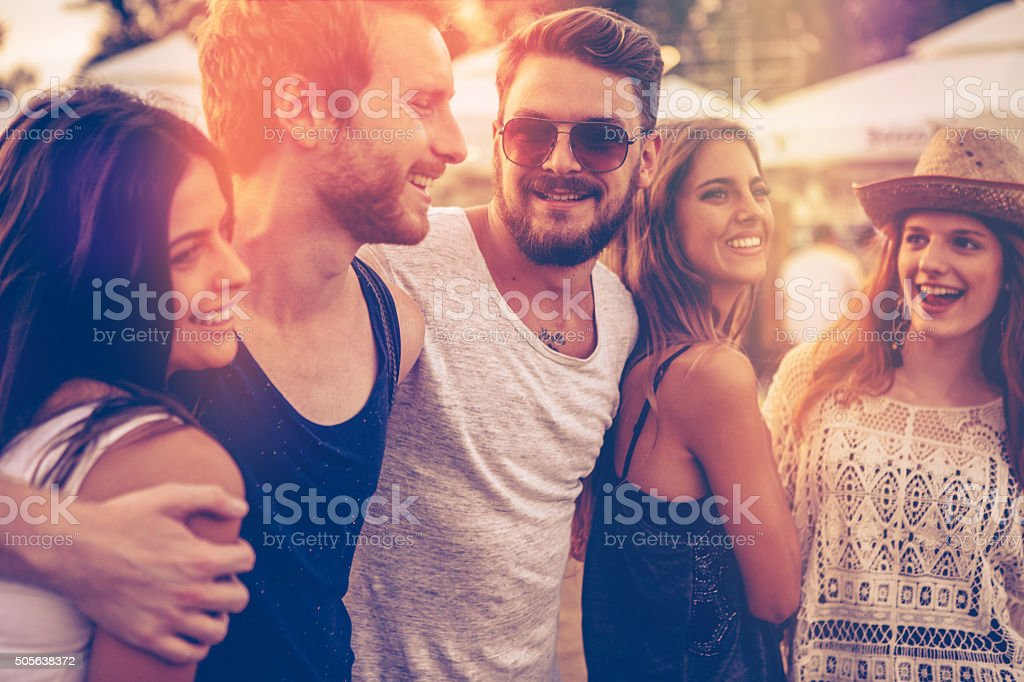 Best festival ever! stock photo
