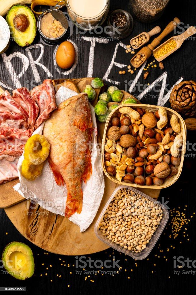 lista de alimentos con proteinas para dieta