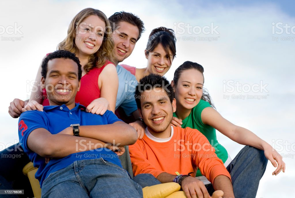 Best friends 4 royalty-free stock photo