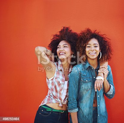 istock Best friends make the happy times even happier 498253464