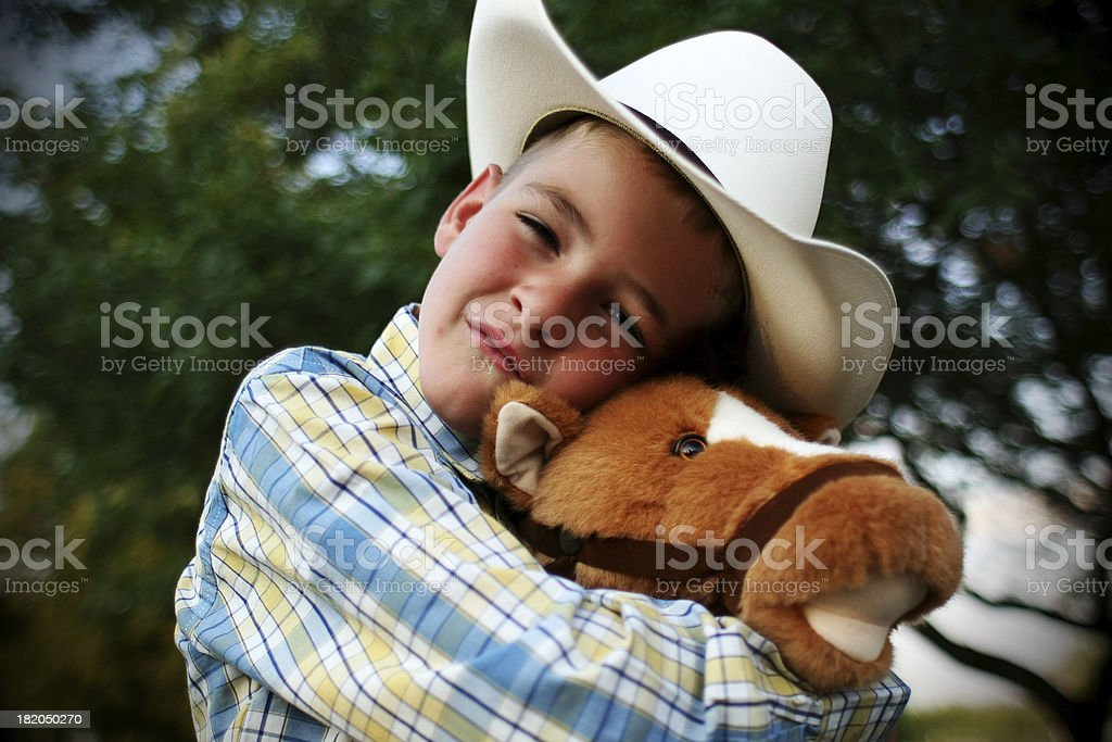 Best Friends royalty-free stock photo