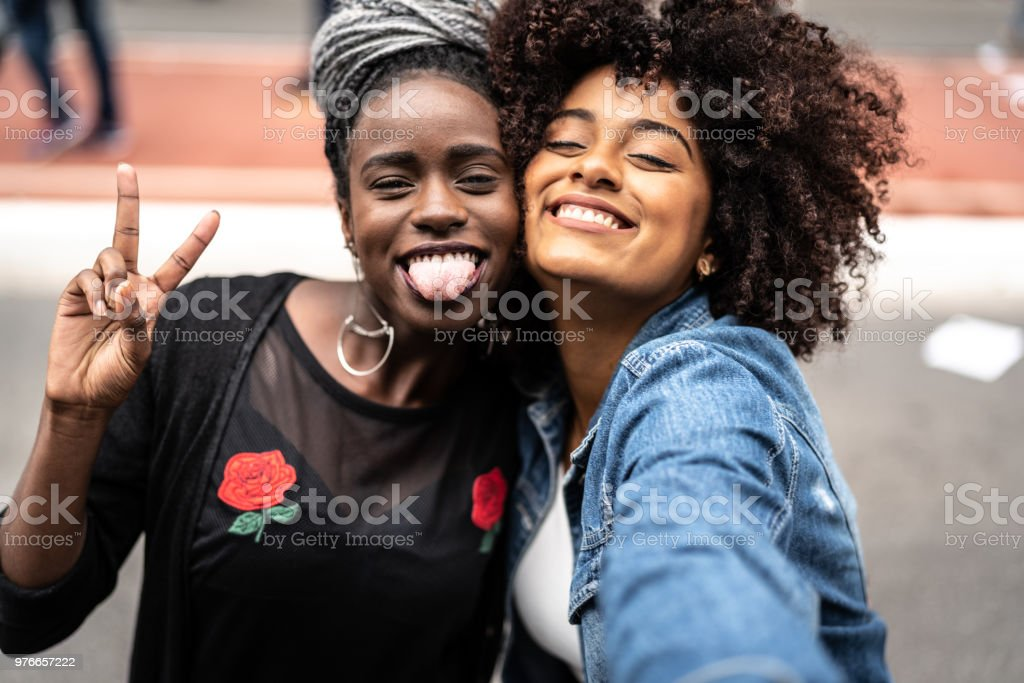 Mejores amigos de Retratos - foto de stock
