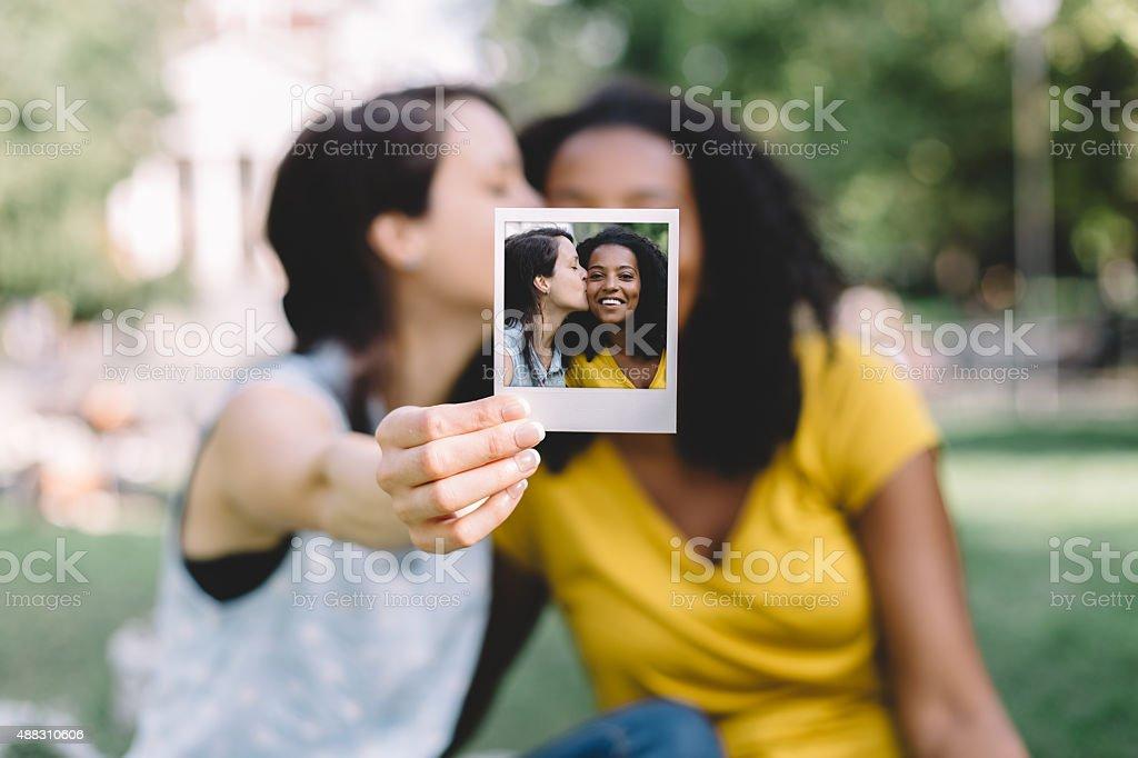 Melhores amigas - foto de acervo