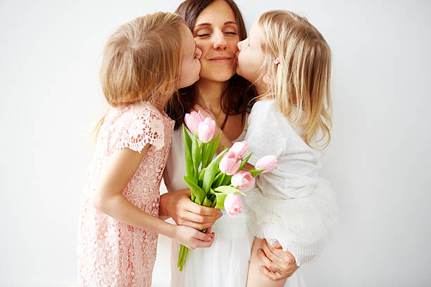 best gift ever - mothers day stock photos and pictures