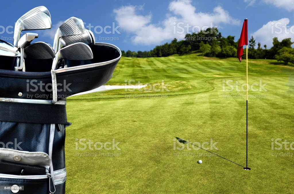 Best Golf picture series stock photo