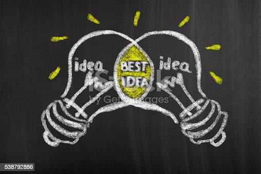 istock Best Idea Concept 538792886