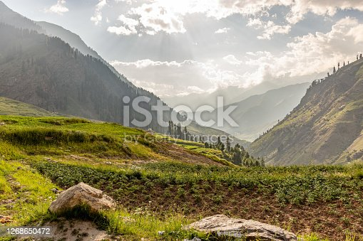 Best landscape of hill station in Naran Pakistan