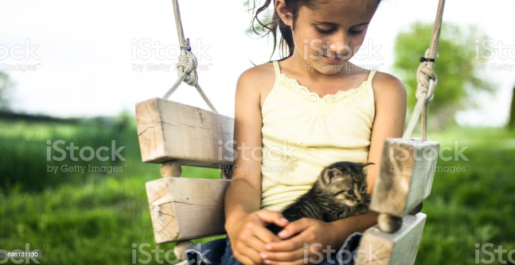 Best Little Friend stock photo