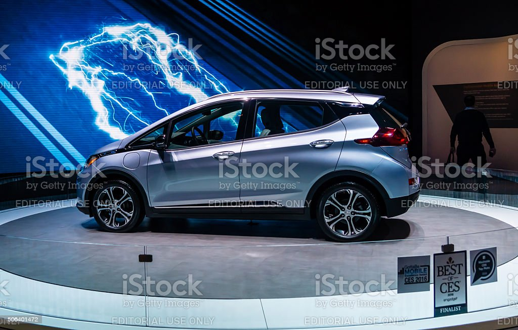 Best of CES  - Chevy Bolt EV stock photo