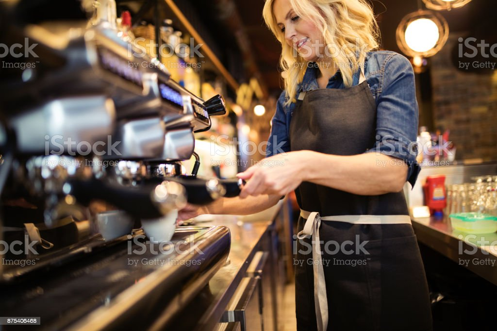 Best place caffeine lovers stock photo