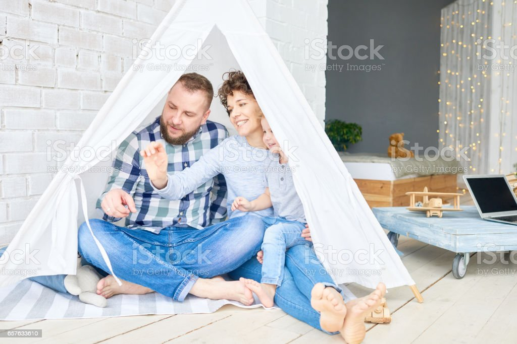 Best place in apartment stock photo