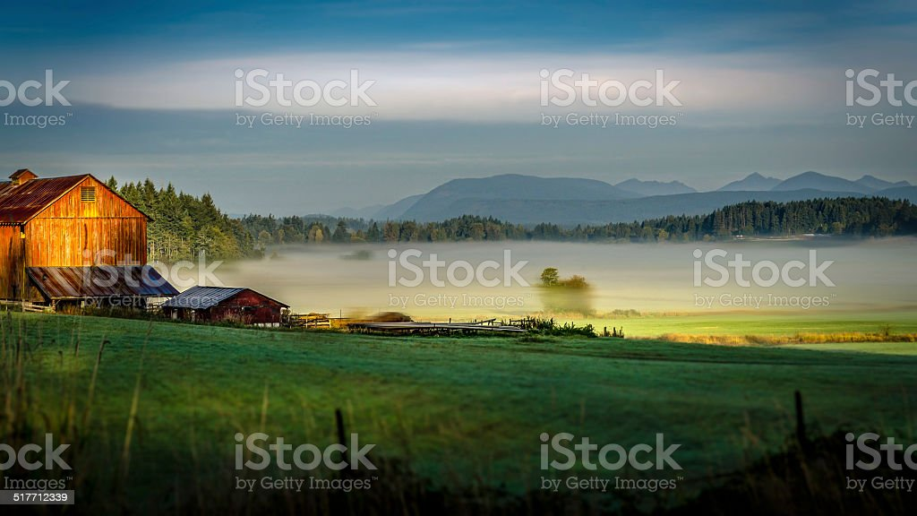 Best Place on Earth - Cowichan Valley BC CANADA stock photo