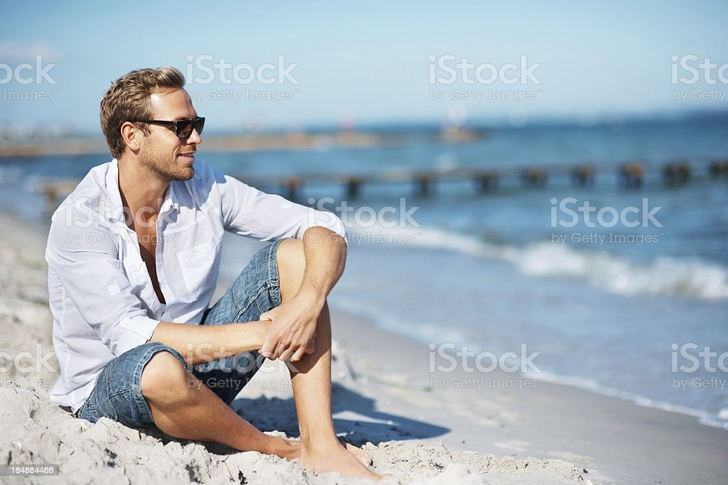 Best place to relaxed stock photo