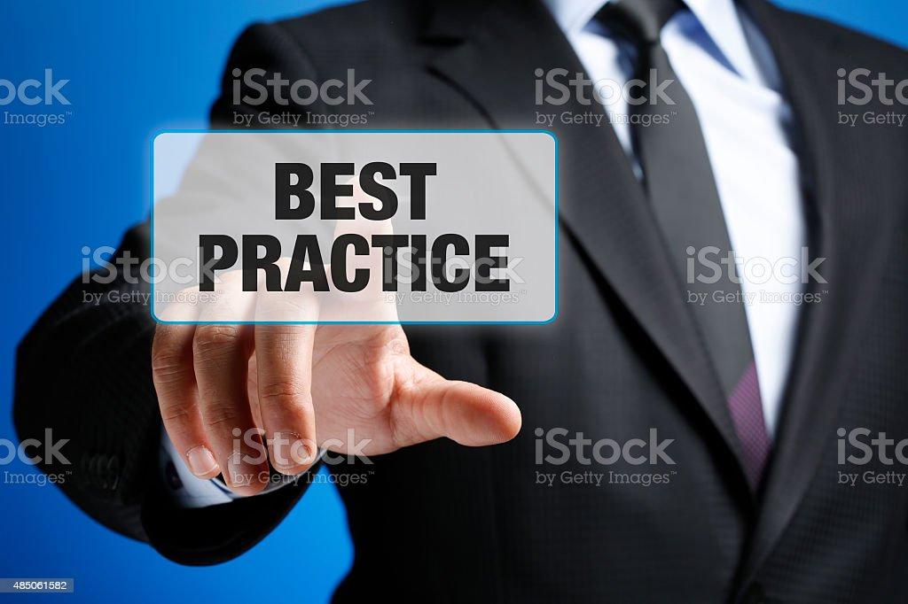Best Practice Concept stock photo