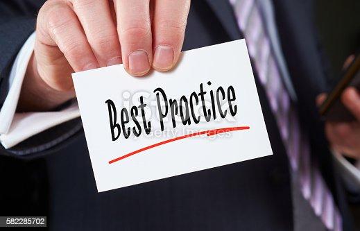istock Best Practice Concept 582285702