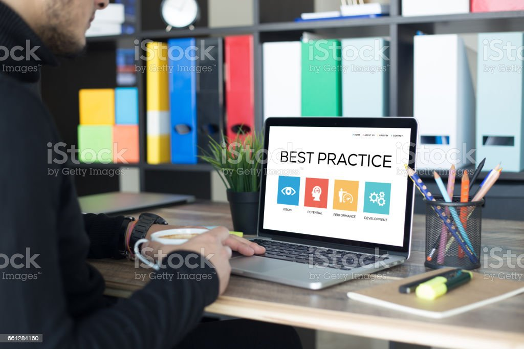 Best Practice Concept stock photo