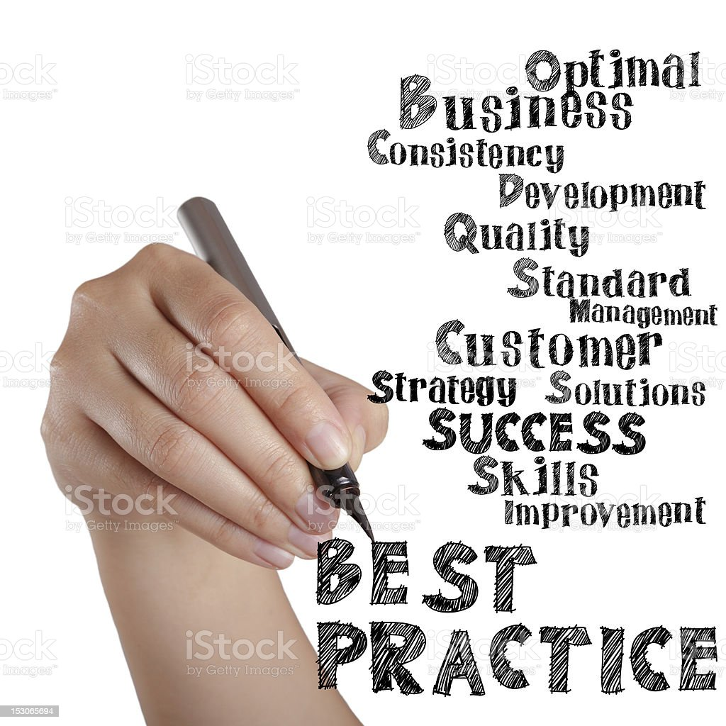 best practice royalty-free stock photo