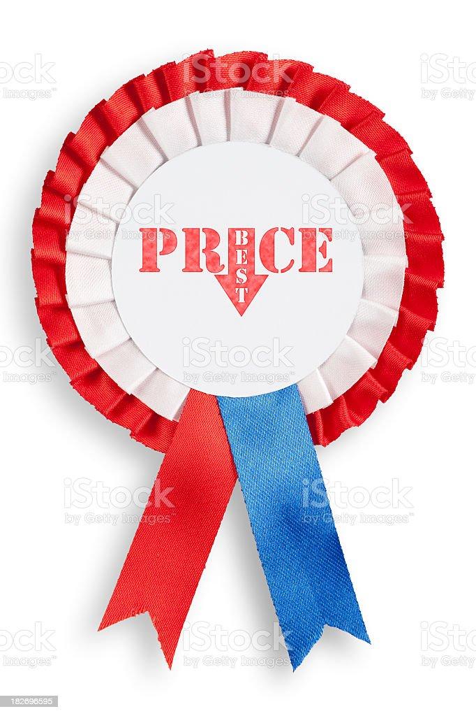 Best Price Cockade (C.Path) royalty-free stock photo