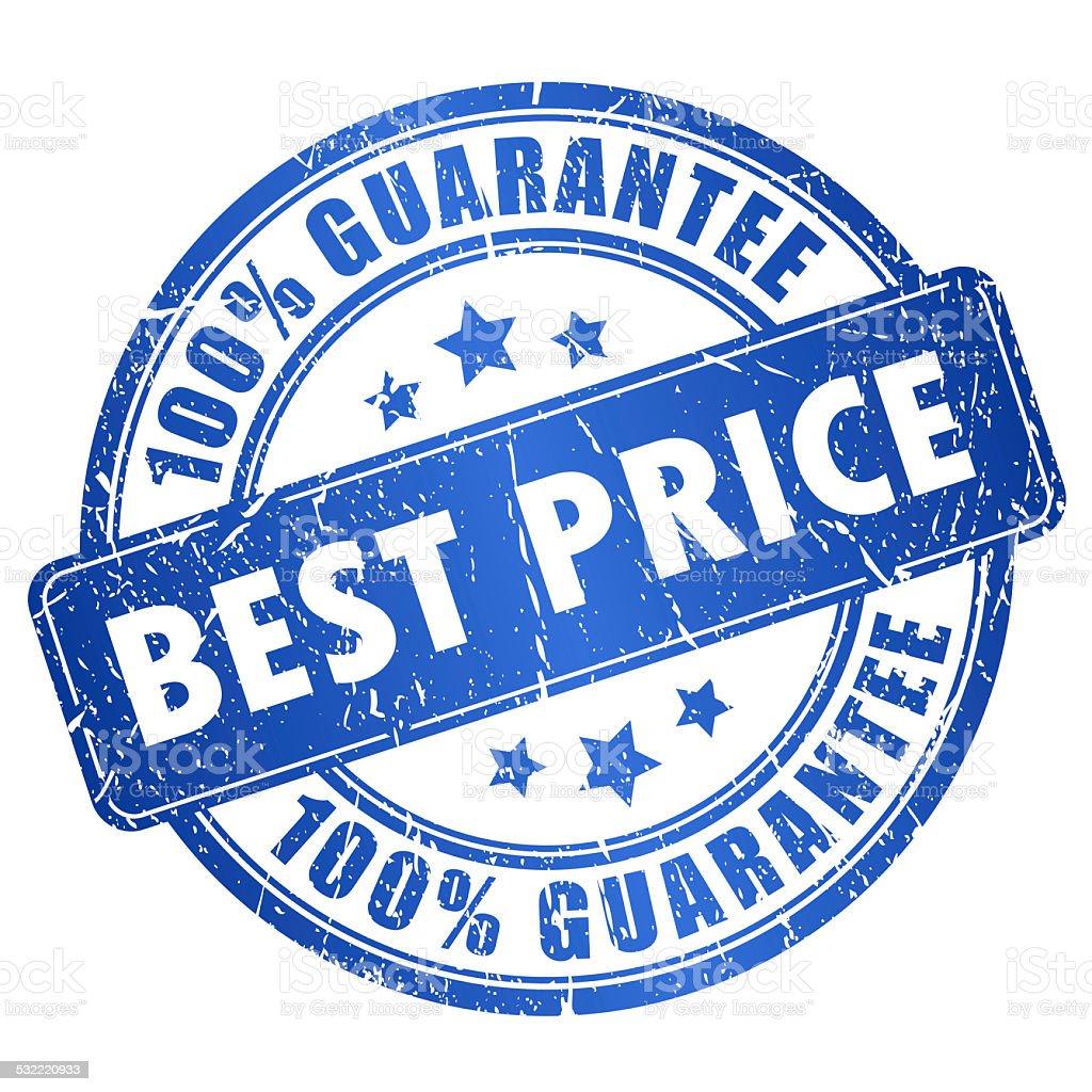 Best price guarantee stock photo