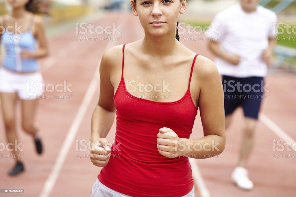 Best runner royalty-free stock photo