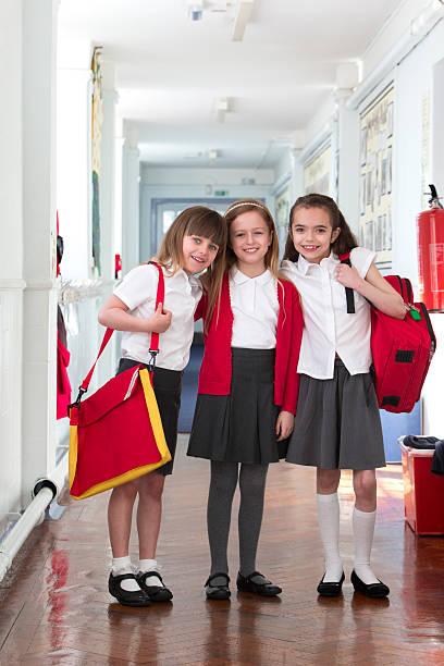 Best School Friends stock photo
