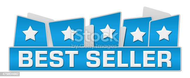 istock Best Seller Blue Squares On Top 479804662