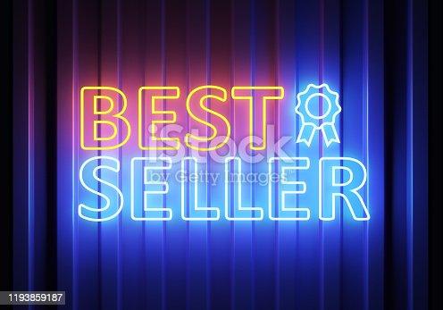 511875398 istock photo Best Seller Neon 1193859187