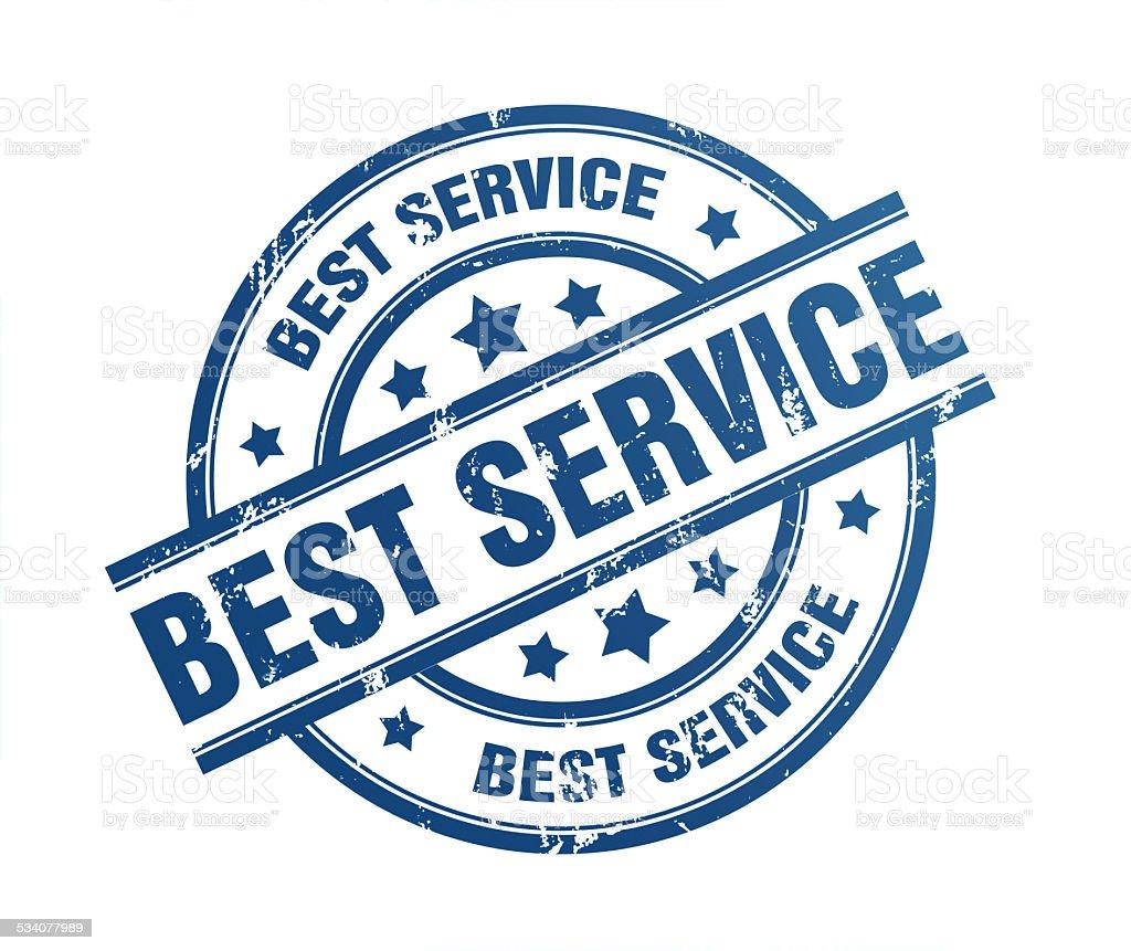 best service stock photo