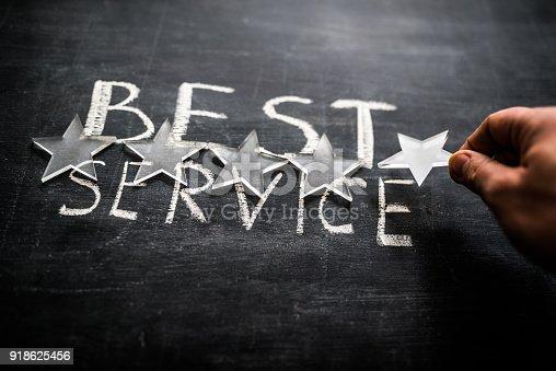 istock Best service 918625456