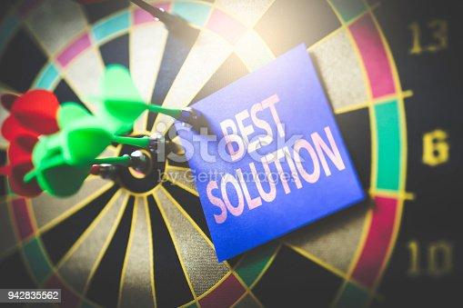 886643538 istock photo Best Solution 942835562