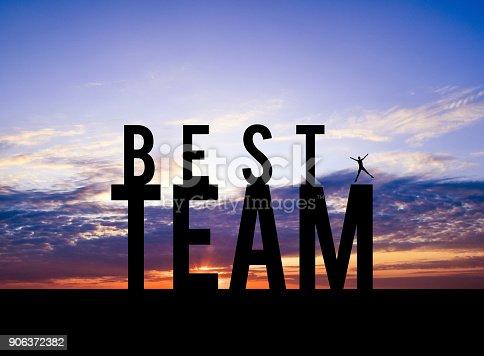 636998872 istock photo Best Team Background 906372382