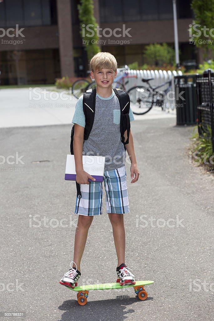 Best way to get to school stock photo