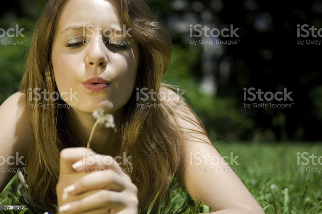 Best Wishes royalty-free stock photo