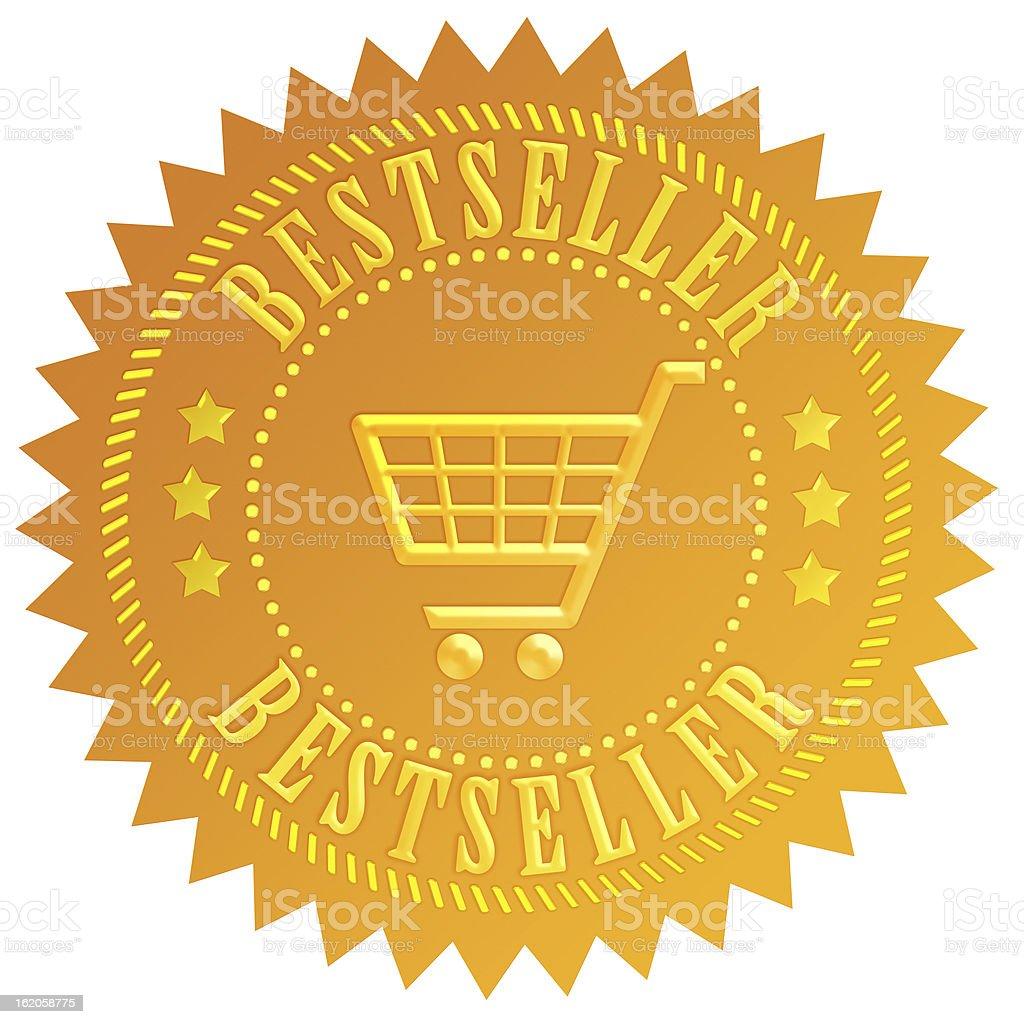 Bestseller icon royalty-free stock photo